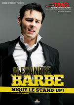 ALEX BARBE- EN STAND-UP...OU PAS